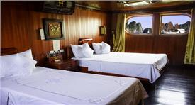 Halong Red Dragon Junk Private 5 cabins
