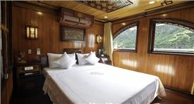 Halong L' Amour Junk Private 1 cabin